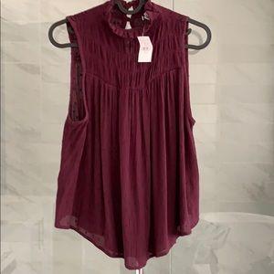 New | American Eagle High Neck sleeveless Top